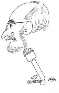 Caricature of Steve